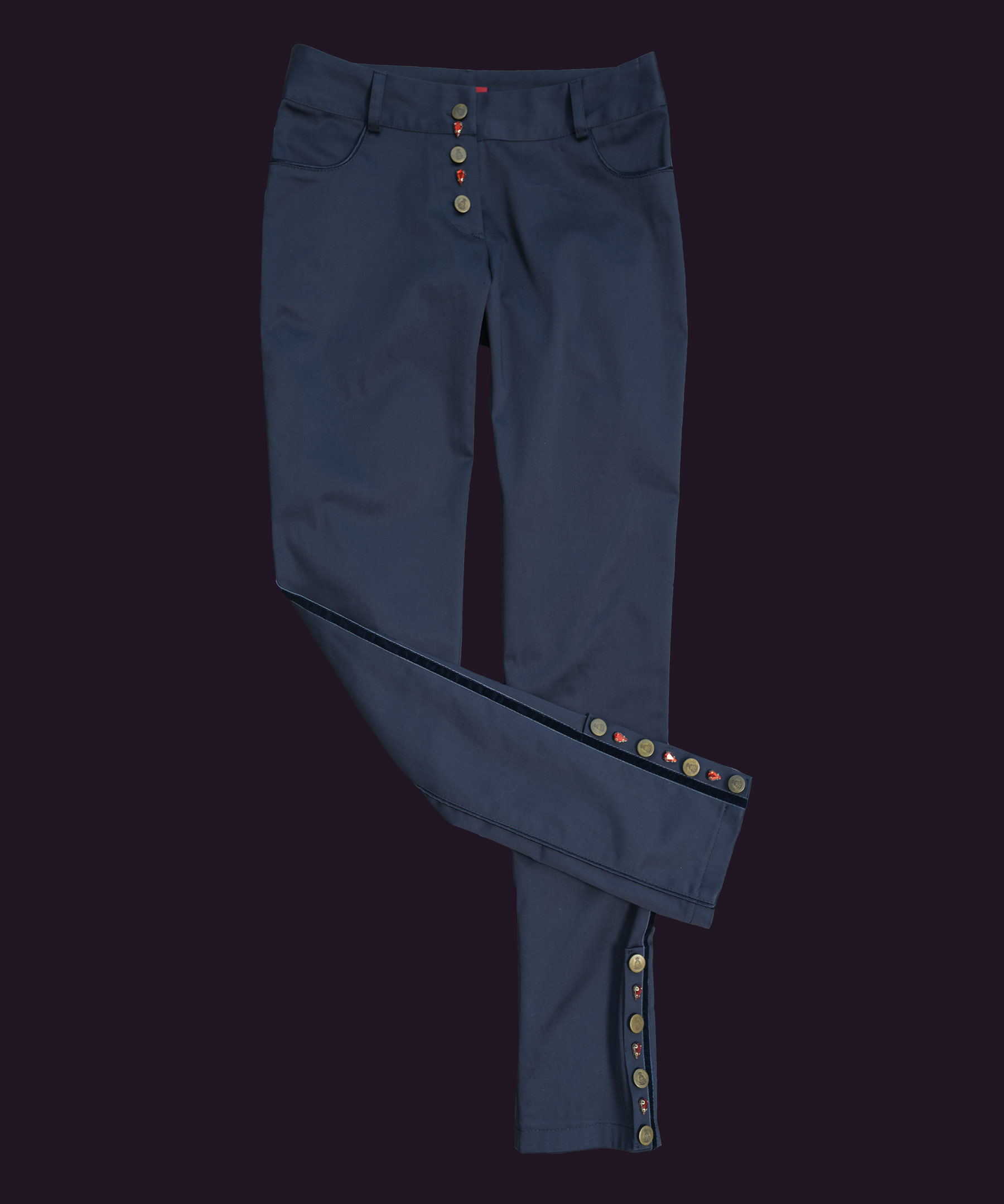 DESIGNER TROUSERS Dark Blue